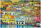 Gustav Klimt Malcena at the Gardasee Art Print Poster Poster