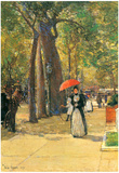 Childe Hassam Fifth Avenue at Washington Square Art Print Poster Prints