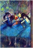 Edgar Degas Dancers Art Print Poster Poster