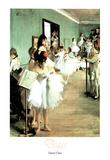 Dance Class Edgar Degas Art Print Poster Posters