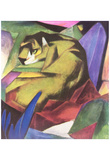 Franz Marc (Tiger) Art Poster Print Prints