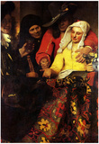 Johannes Vermeer The Procuress Art Print Poster Prints