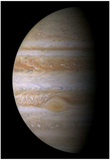 Jupiter (In Space) Art Poster Print Posters