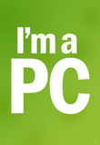 I'm a PC (Green) Art Poster Print Masterprint