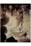 Johann Heinrich Fuseli (Odysseus before Scilla and Charybdis) Art Poster Print Prints