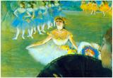 Edgar Degas Dance with Bouquet Art Print Poster Prints