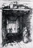 James Whistler The Beggars 2 Art Print Poster Masterprint