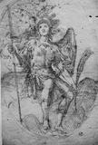 Michel Angelo Cinganelli (Archangel Michael) Art Poster Print Masterprint