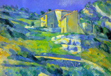 Paul Cezanne House in the Provence Art Print Poster Masterprint