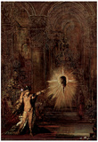 Gustave Moreau (The appearance (Salomé and the head of John the Baptist)) Art Poster Print Prints