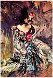 Giovanni Boldini The Spaniard from 'Moulin Rouge' Art Print Poster Posters