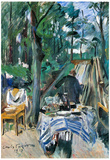 Lovis Corinth Skittle Alley Art Print Poster Posters