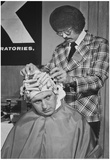 Detroit Barber Shop 1974 Archival Photo Poster Prints