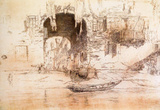 James Whistler San Biagio Art Print Poster Masterprint