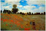 Claude Monet Les Coqueliquots Art Print Poster Posters