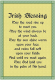 Irish Blessing Art Print Poster Poster