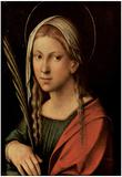 Correggio (St. Catherine of Alexandria) Art Poster Print Prints