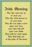Irish Blessing Art Print Poster Masterprint