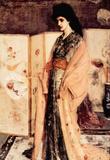James Whistler La Princesse du Pay de la Porcelaine Art Print Poster Masterprint
