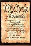 Constitution America motivational Art Print Poster Posters