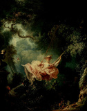 Jean-Honoré Fragonard (The Swing) Art Poster Print Masterprint