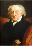 Gilbery Stuart Portrait of John Adams Historical Art Print Poster Prints