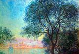 Claude Monet Antibes Seen from La Salis Art Print Poster Masterprint