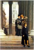James Tissot Visitors in London Art Print Poster Print