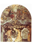 El Greco (Burial of Count Orgaz) Art Poster Print Posters