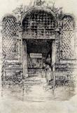 James Whistler The Doorway Art Print Poster Masterprint