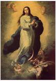 Bartolomé Esteban Perez Murillo (Maria Immaculata) Art Poster Print Posters