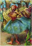Edgar Degas Dancers 2 Art Print Poster Print