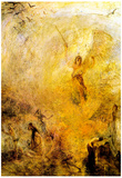 Joseph Mallord Turner Angel in the Sun Art Print Poster Posters