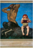 Franz von Stuck Dissonance Art Print Poster Posters