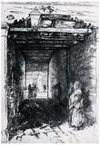 James Whistler The Beggars 2 Art Print Poster Prints