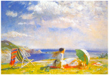 Dame Laura Knight Wind and Sun Art Print Poster Prints