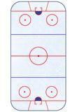 Hockey Rink Layout Sports Poster Billeder