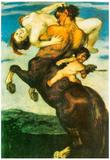 Franz von Stuck Rape of a Nymph Art Print Poster Photo