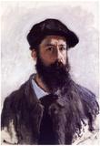 Claude Monet (Self-Portrait with a Beret) Art Poster Print Poster