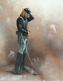 Civil War Soldier Blue Union America Art Print POSTER Masterprint