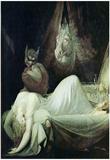 Johann Heinrich Fuseli (Nightmare) Art Poster Print Prints