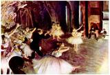 Edgar Degas Stage Probe Art Print Poster Photo
