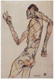 Egon Schiele (The dancer) Art Poster Print Prints