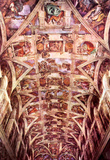 Michelangelo Buonarroti (Ceiling fresco of Creation in the Sistine chapel, general view) Art Poster Masterprint