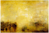 Joseph Mallord Turner Whalers Art Print Poster Posters