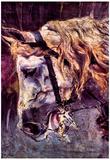 Giovanni Boldini Head of a Horse Art Print Poster Prints