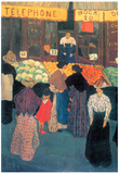 Felix Vallotton At the Market Art Print Poster Posters