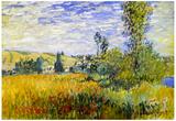 Claude Monet Vetheuil Art Print Poster Print