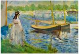 Edouard Manet His Embankment at Argenteuil Art Print Poster Posters