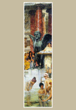 Lawrence Alma-Tadema A bathroom (An ancient tradition) Art Print Poster Masterprint